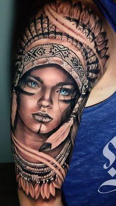 100 Tatuagens masculinas na parte superior do braço - Fotos e Tatuagens