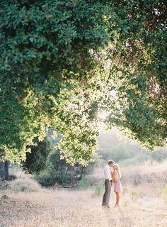 Outdoor engagement shoot inspiration: