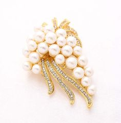 Creative Brooch Pin Rose Gold Blue Diamond Brooch Ladies Fashion Pin Elegant Pin Badge Pin Lapel Pin Color : Rosegold, Size : One Size