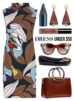 """""""Retro to Go"""" by maxfield ❤ liked on Polyvore featuring Boohoo, Lulu Frost, Tory Burch, Valentino, The Row, Urban Decay and Bobbi Brown Cosmetics"""