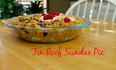 ... Sunday better! Easy as Pie in Kansas: Tin Roof Sundae Pie - Week 35