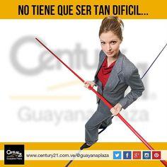 El respaldo y la experiencia de #Century21 Guayana Plaza es lo único que necesitarás para tu operación de compra-venta #inmobiliaria Más Capaces Más Audaces Más Rápidos #Venezuela
