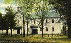 School House, Adamsville, Ohio 1900s