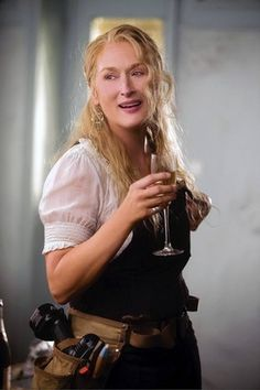 In the 2008 film adaptation of 'Mamma Mia!', Meryl Streep showed off her singing voice.