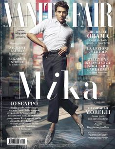 Male Fashion Trends: Mika por Amilgare & Alex para Vanity Fair Italia