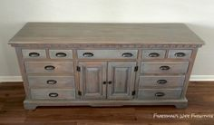 Fisherman's Wife Furniture: Master Bedroom Dresser Reveal