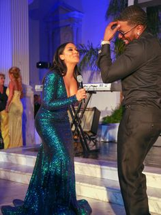 Nelly Photos Photos - Shantel Jackson and Nelly are seen performing at The 7th Annual Face Forward Gala at Vibiana. - Celebrities Attend the 7th Annual Face Forward Gala