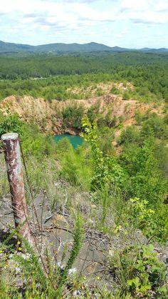 Former copper mine