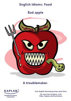 English Idioms: Bad Apple