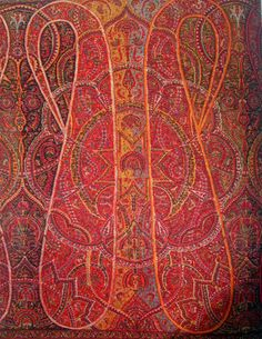 A Visual History of Paisley: a great look at the history of the paisley design / Kashmir shawls / cross-fertilization of India, the Islamic world and the West