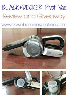 BLACK+DECKER Pivot Vac, the Best Handheld Vacuum and Giveaway! - Down Home Inspiration
