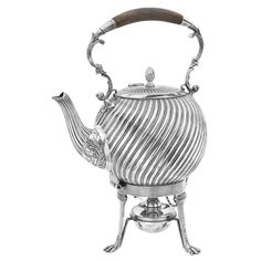Shop diamond rings, luxury watches and other fine jewelry from the world's best jewelry dealers. Silver Teapot, Coffee Service, Diamond Rings, Tea Pots, Steampunk, Fine Jewelry, Victorian, Luxury, Tableware
