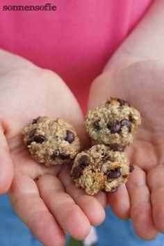 Backen im Urlaub: 3 Zutaten-Kekse mit Haferflocken, Banane und Schokolade