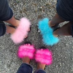 166f28f10a5a Fuzzy Slide Sandals Any color and any size once you order we will discuss  the details