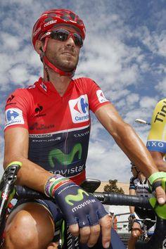 Vuelta a España 2014 - Stage 7: Alhendín - Alcaudete 169km - Race leader Alejandro Valverde (Movistar)