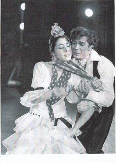 """Antonio """"EL Bailarín"""" y Carmen Rojas del Libro de Ballet, de Serge Lido"""