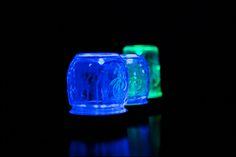 What  you  need  is      Glow  in  the    Dark Paint    foam Paint Brushes  Mason Jar   Glitter/ Epsom Salts  (  Optional  see bottom fo...