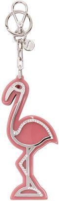 Shop Now - >  https://api.shopstyle.com/action/apiVisitRetailer?id=619881924&pid=uid6996-25233114-59 Miu Miu Pink Flamingo Keychain  ...
