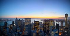 New York by Gehry at 8 Spruce Street-The VIEW!  See the Statue of Liberty in the harbor?