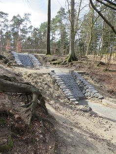 Loenen op de Veluwe - waterval in het bos → Veel mooier dan de 'grote waterval'