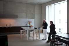 where architects live: inside the home of david chipperfield