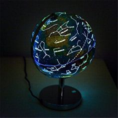 3 in 1 illuminated world globe night light and constellation globe illuminated world globe 3 in 1 educational toy rotating globe globes of the world classic design at day built in led glowing star constellation map gumiabroncs Choice Image