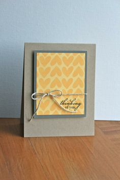 sympathy card thinking of you card| GoldenSimplicity.com
