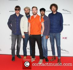 British rock Band Kaiser Chiefs at Earls Court London for the Jaguar XE Global Launch Party and Show
