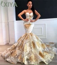African Formal Dress, African Prom Dresses, Gold Prom Dresses, Evening Dresses For Weddings, Cheap Evening Dresses, Mermaid Evening Dresses, Event Dresses, African Fashion Dresses, African Dress