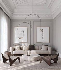 Apartment Interior, Home Living Room, Interior Design Living Room, Living Room Designs, Living Room Decor, Studio Living, Design Salon, Style Deco, Home Room Design