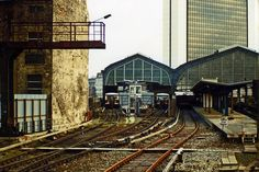 Station Berlin-Friedrichstrasse,one Station,two Worlds-i worked many years on the tracks beetween east and west The Second City, Second World, East Germany, Berlin Germany, Bahn Berlin, S Bahn, Berlin Wall, Cold War, Public Transport
