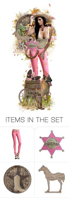 """""""Sheriff Callie's Wild West"""" by girlinthebigbox ❤ liked on Polyvore featuring art, cowgirl, western and Yeeha"""