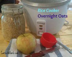 rice cooker overnight oats