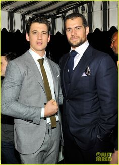 09 JAN 2015 : Henry Cavill at the W Mag's pre-Golden Globes Party