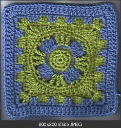 Castle's End Square: free pattern