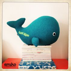 Personalized Whale for Levi Meo Whale, Dinosaur Stuffed Animal, Toys, Animals, Inspiration, Stuffed Toys, Toy, Animales, Biblical Inspiration