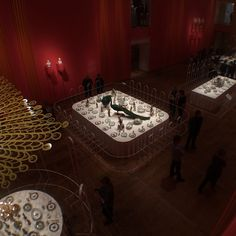 Tentoonstelling dining with the Tsars - Hermitage Amsterdam