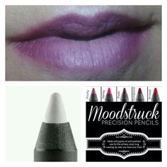 Precision White Eye Liner used on your lips for an Ombre Look using precision liners only