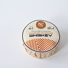 NEW! WHISKEY old-fashioned wet shave puck | Portland General Store