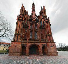 St. Anne's Church (Wikipedia/Juliux, CC BY-SA 3.0)