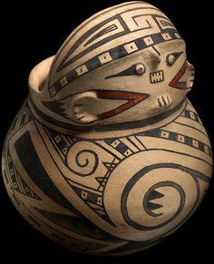 Casas Grandes effigy jar  AD 1200–1450  Paquimé, Chihuahua, Mexico