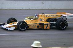 Johnny Riutherford Ontario Speedway Cal 500 1973 McLaren M-16C