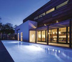 Modern home in the Montrose neighborhood of Houston.