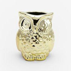 west elm Filled Owl Candles on shopstyle.com