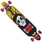 """#Skateboards 42""""x9.5"""" Through longboard skateboard complete Vampire Yellow - http://awesomeauctions.net/skateboards/42x9-5-through-longboard-skateboard-complete-vampire-yellow/"""