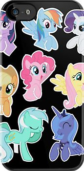 I love this phone case and I love my little pony!!! I don't know which one I like better!!! Ahhhhh I have to choose!!! I guess my little pony but this is a pretty awesome case!!!
