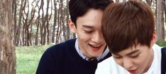 Find images and videos about gif, exo and xiumin on We Heart It - the app to get lost in what you love. Kaisoo, Chanbaek, Kyungsoo, Exo Memes, Park Chanyeol, Slash, Wattpad, Xiu Min, What Is Life About