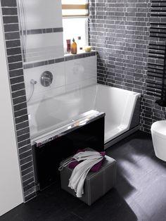 """repaBAD GmbH   Easy-in de douche om in te baden    Wie liever een korte douche neemt, maar ook wel eens van een lekker bad wil genieten, had tot voor kort het probleem """"het een... of het ander"""". Ondertussen is er een oplossing die beide mogelijk maakt: douchen en baden. De combidouche """"Easy-in"""" van Repabad kan met een druk op de knop worden veranderd in een absoluut waterdicht welzijnsbad. Met deze oplossing wordt tevens ruimte in de kleine badkamer bespaard.        http://tegels.nl/6633"""