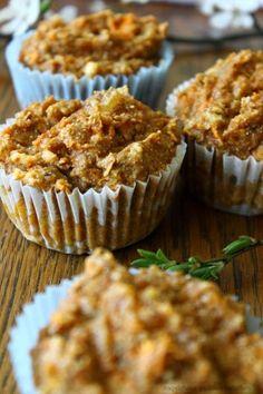 Süßkartoffel-Ingwer-Muffins Muffins, Breakfast, Spring, Yummy Food, Food Food, Simple, Round Round, Morning Coffee, Muffin