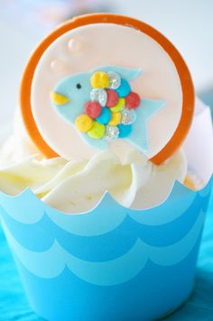 """Photo 49 of 61: Birthday """"Rainbow Fish Party"""" 
